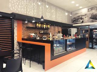 projeto arquitetura café