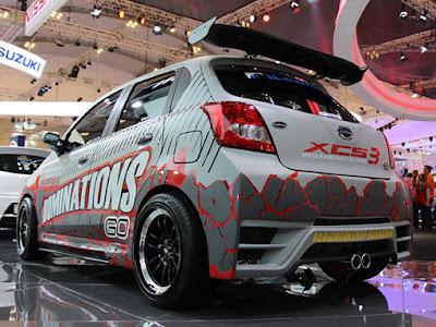 Cantiknya Datsun GO Modif, Icon Datsun Xplore Your Style