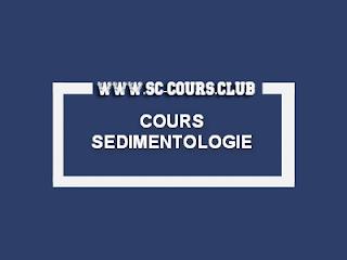 COURS SEDIMENTOLOGIE STU S4 PDF