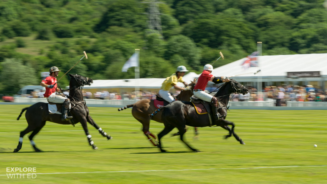 Polo Match on the Twenty Ten course