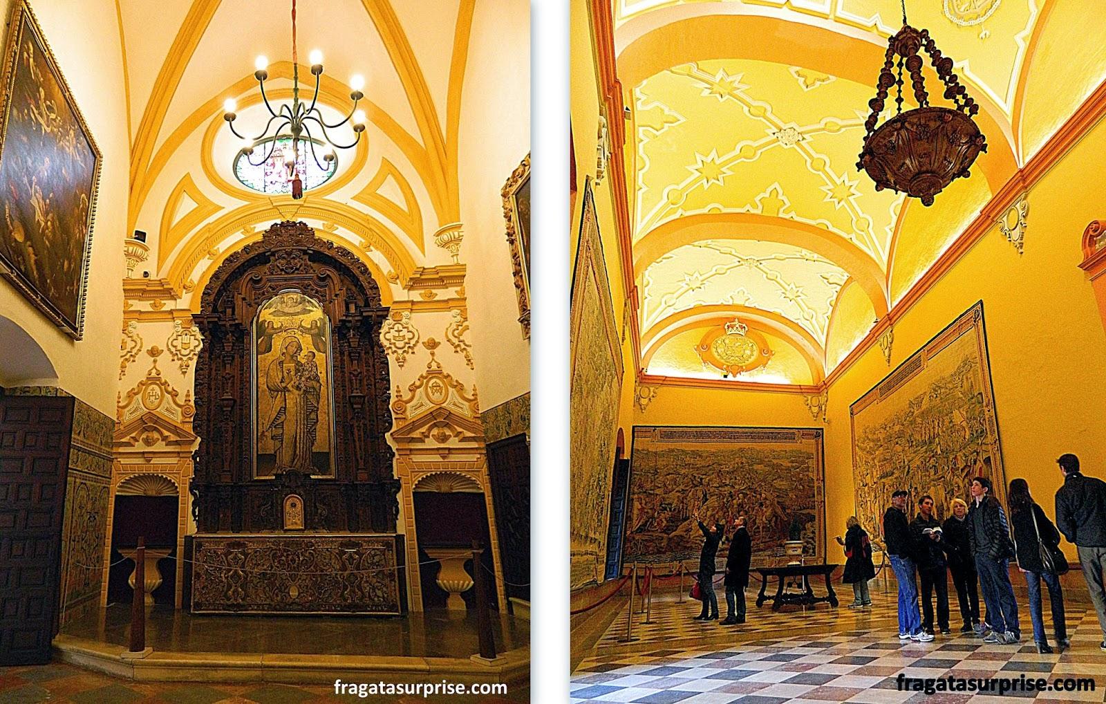 Tapeçarias flamengas no Real Alcázar de Sevilha