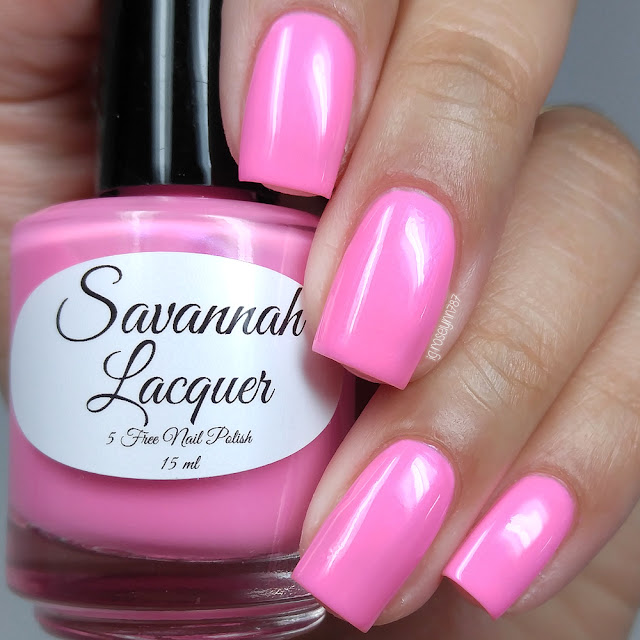 Savannah Lacquer - Bubblegum Taffy