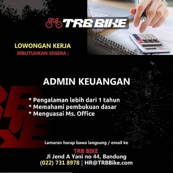 Lowongan Admin Keuangan
