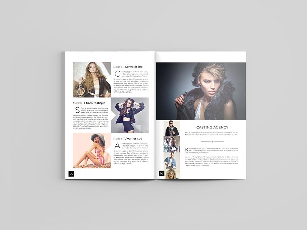 Fashion Catalog Design