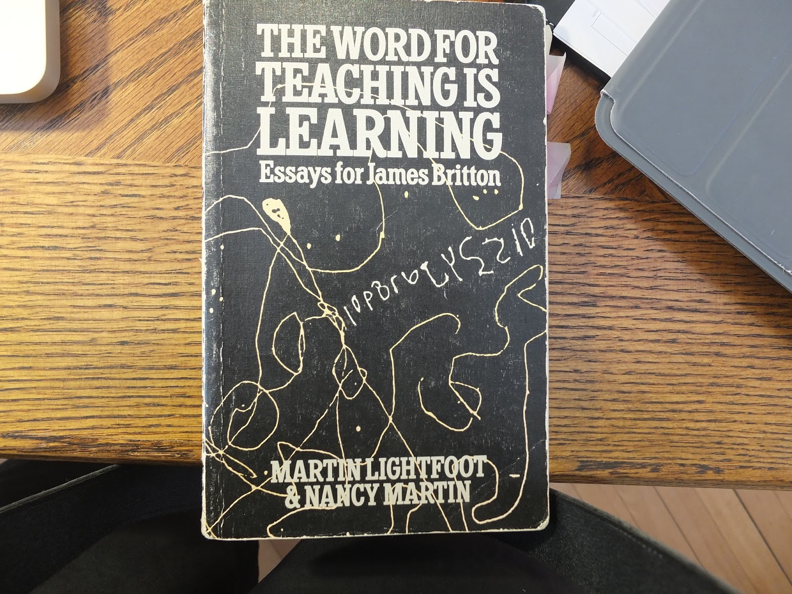 the word for teaching is learning essays for james britton And her essays have appeared in   on the brain and learning including  teaching with the  which won the 2009 james n britton award from ncte.