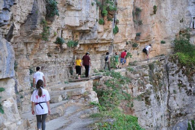 Ποιο είναι το «Γκραντ Κάνιον της Ελλάδας», που μπήκε στο βιβλίο Γκίνες; Ένα υπέροχο ελληνικό τοπίο.