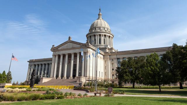 Former Oklahoma State Senator Pleads Guilty to Child Sex Trafficking  Statecapitolbuildings_oklahoma_oklahamacity_thinkstock%2B%25281%2529