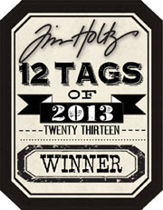 Winner of Tim Holtz January 2013 Tags