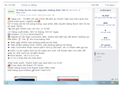 viết bài hấp dẫn phương pháp SEO fanpage facebook hiệu quả