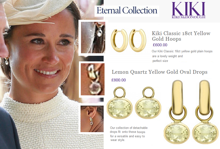 Kiki McDonough - Eternal' Lemon Quartz Yellow Gold Oval Drops