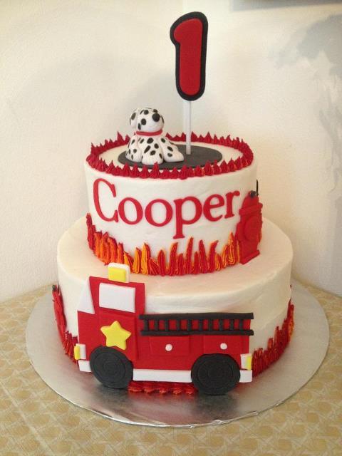 Simply Sweet Firetruck Cake