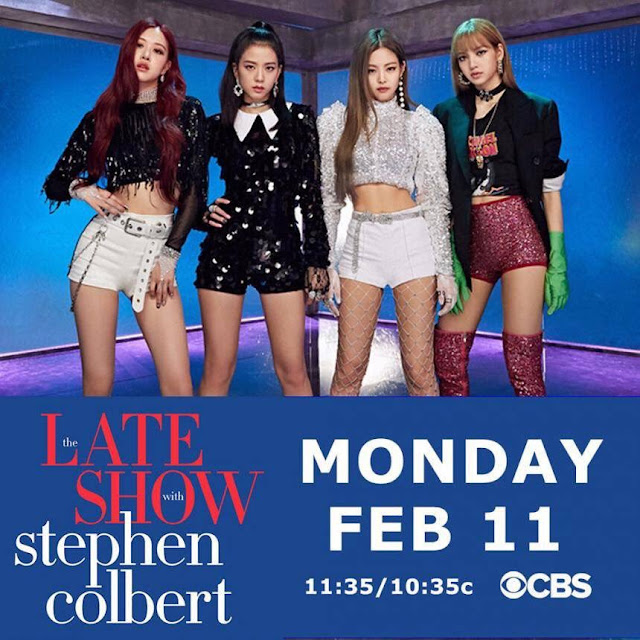 BLACKPINK at Late Show With Stephen Colbert
