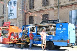 Restaurantes en furgonetas en la Finca Munoa