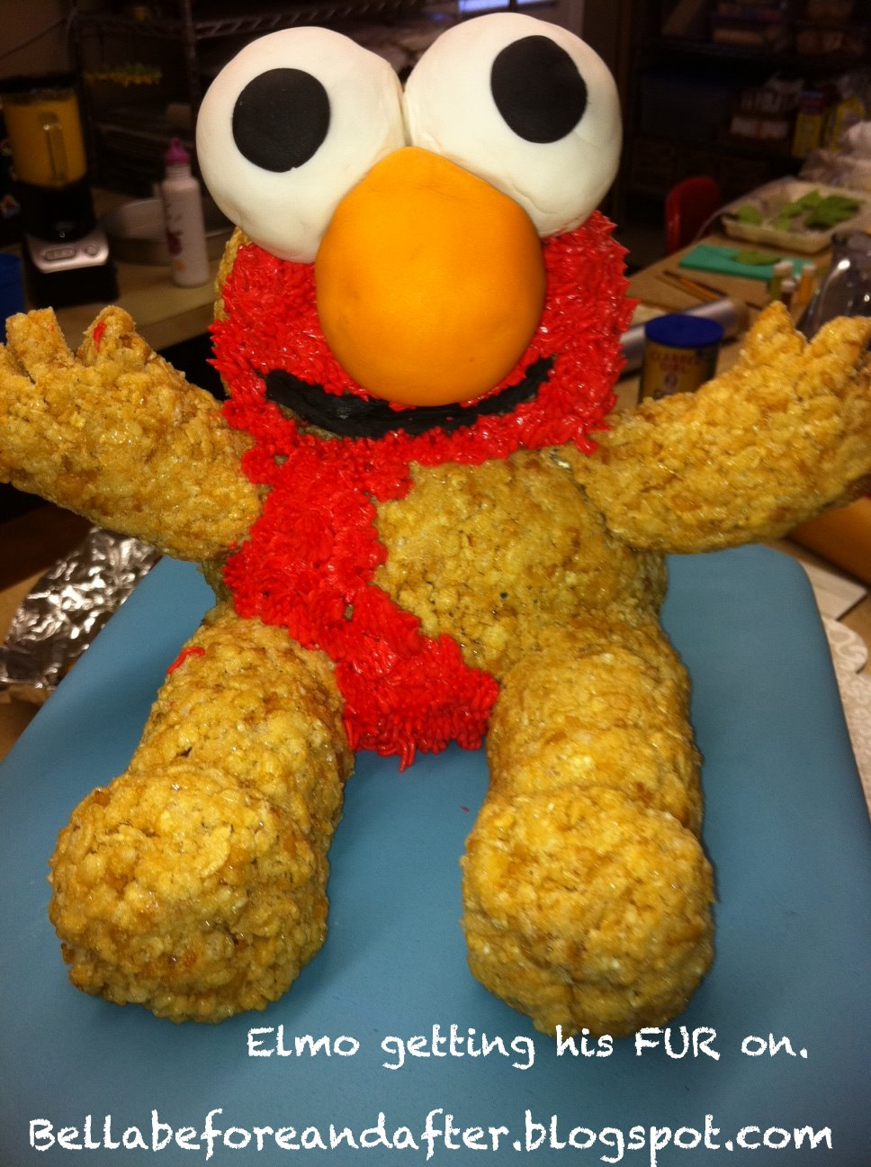 What To Use For Elmos Nose On A Cake