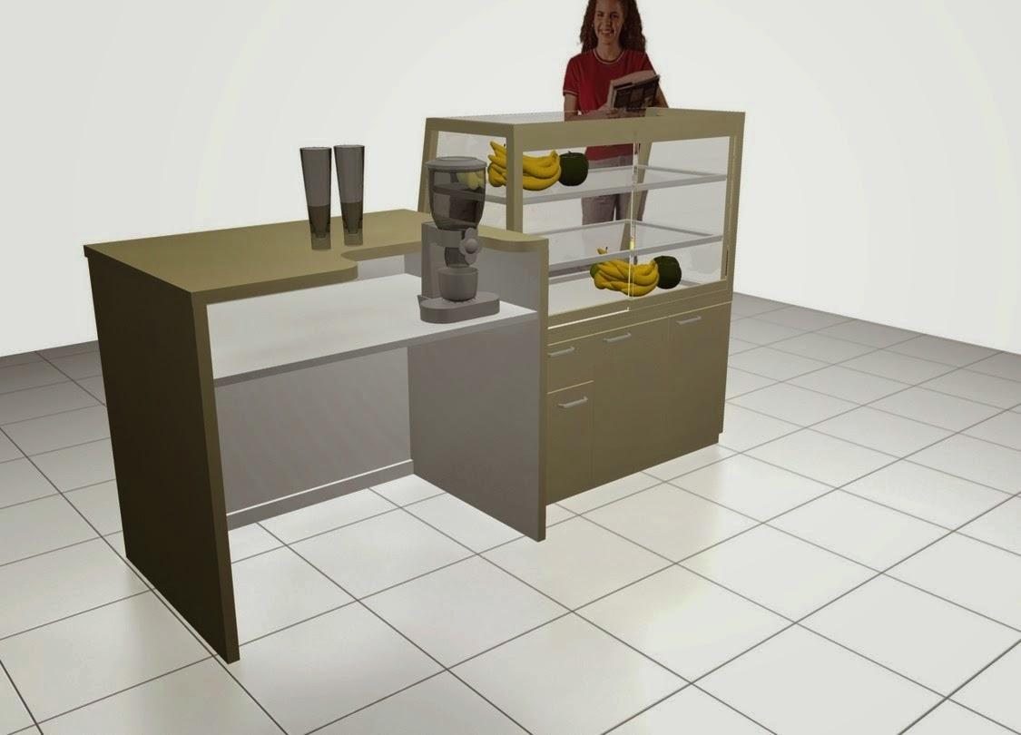 desain 3d etalase makanan minuman semarang belakang