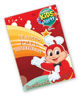 Jollibee party package - My Bestfriend Jollibee Guest Book