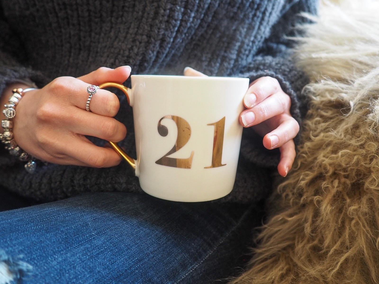 21 Birthday Mug