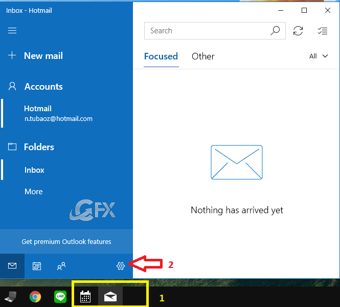 Windows 10 dark theme for mail and calendar- www.ceofix.net