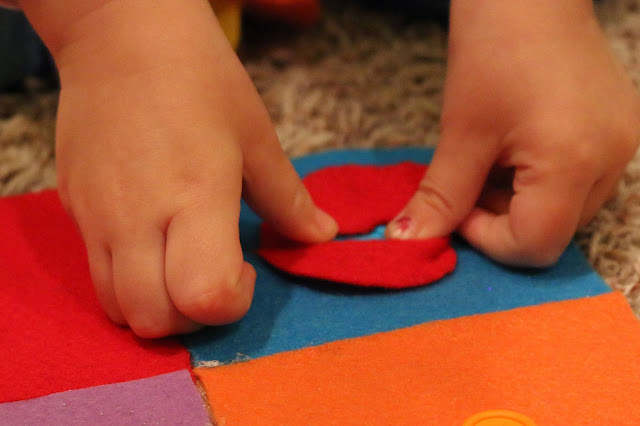 fine motor skills button board