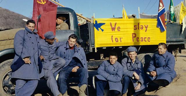 Kore'de Savaşan Mahkumlar Amerika'ya Dönmeyi Reddediyor: Barış İçin Kalıyoruz