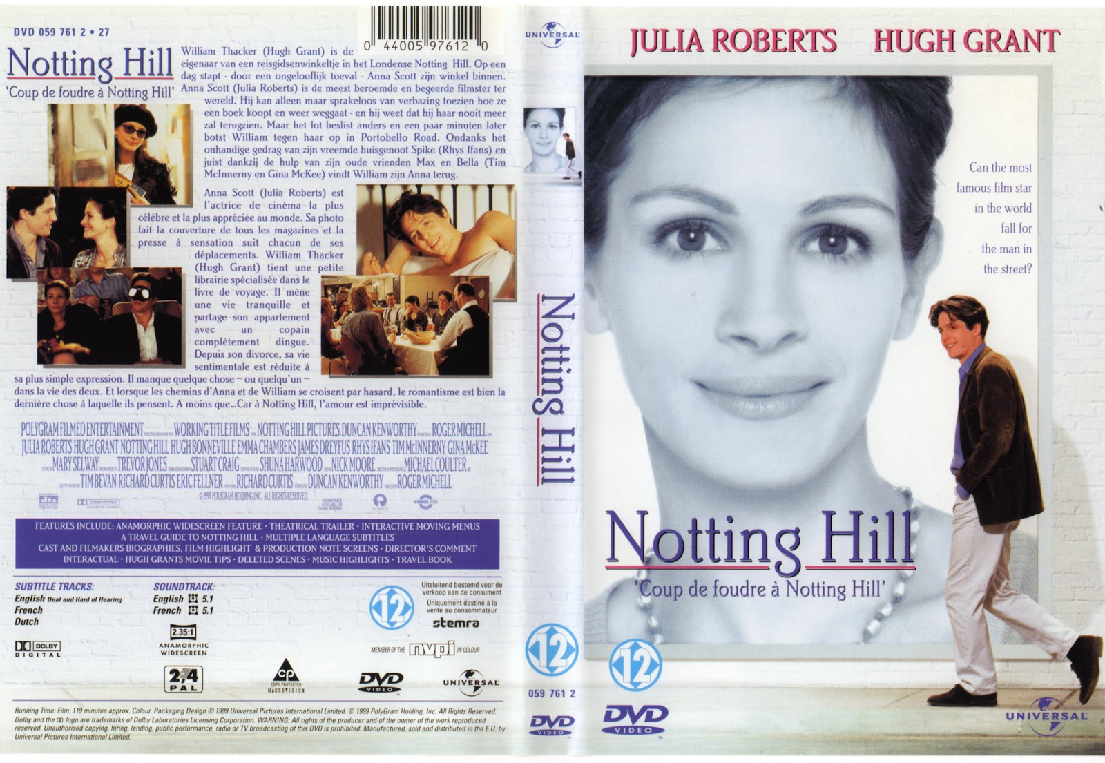 Julia roberts notting hill nude naked pussy slip celebrity - Coup de foudre a notting hill musique ...