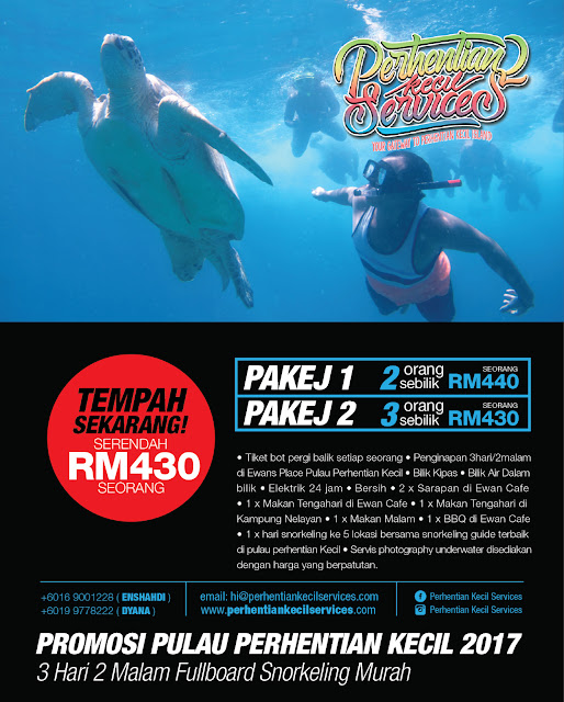 perhentian kecil 2017 , pakej 3 hari 2 malam snorkeling , pakej perhentian 2017