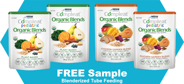 FREE Compleat Organic Blends Blenderized Tube Feeding