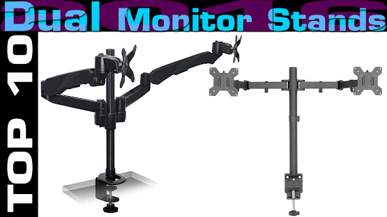 Top 10 Dual Monitor Stands 2016 Design Crafts Com
