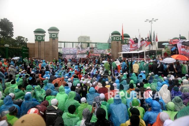 Hadiri Aksi 212, Habib Rizieq Atur Massa Bubar dengan Tertib