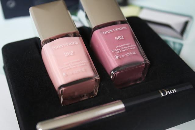 Dior nail vernis лаки для ногтей обзор и свотчи