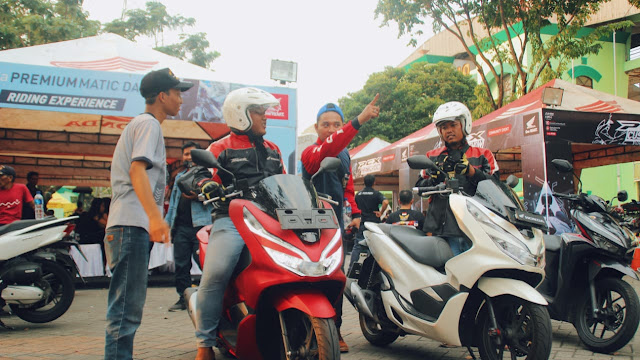 test ride Honda Premium Matic Day 2019