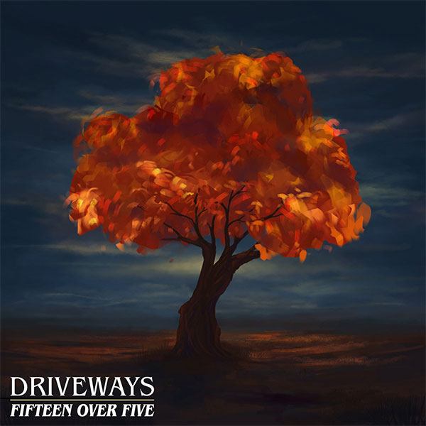 "Driveways stream new song ""Fifteen Over Five"""