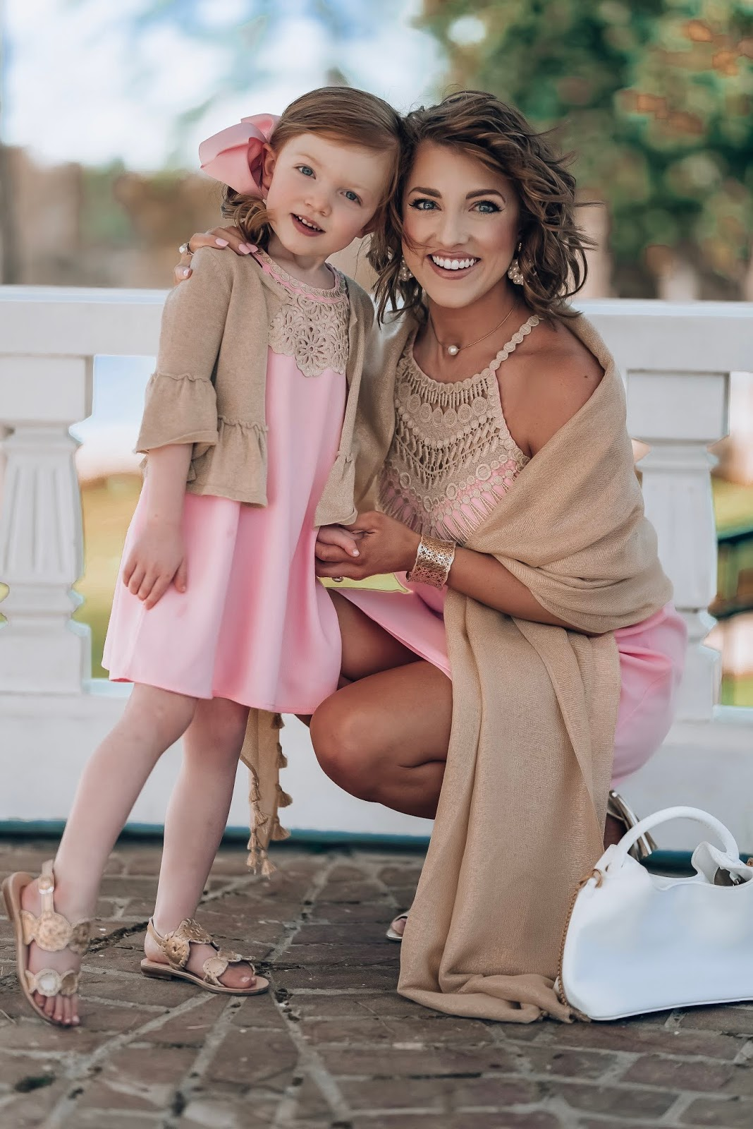 Mommy and Me in Lilly Pulitzer Pearl Shift Dresses - Something Delightful Blog