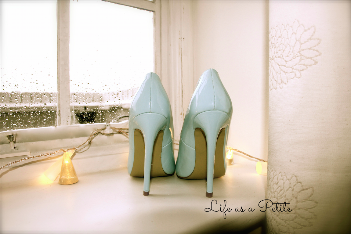 Powder/Light Blue Pointy Heels - Life as a Petite