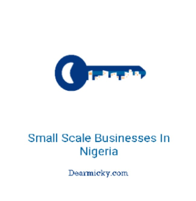 10+ Small Scale Businesses In Nigeria