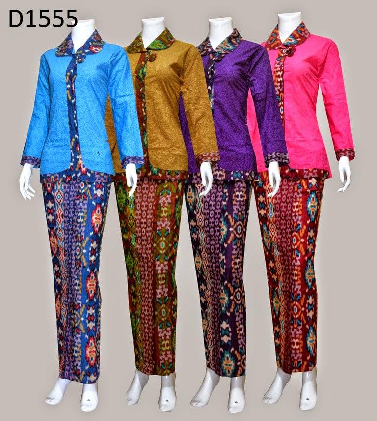 Contoh Gambar Baju Batik Modern: 37+ Model Baju Batik Pramugari 2019 & Video
