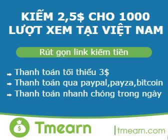 Link rút gọn Tmearn giá cao nhất Việt Nam
