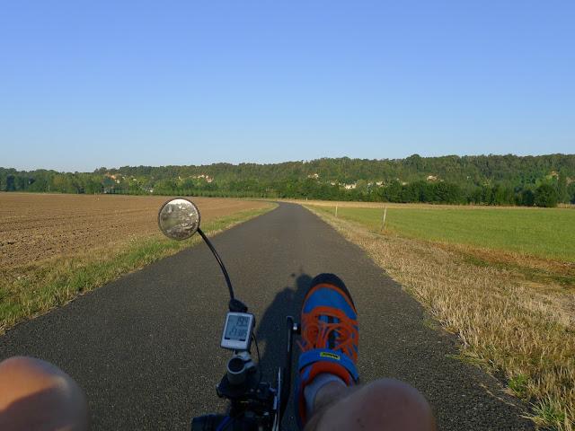 De Paris à la Rochelle en vélo couché, Vallée du Loir