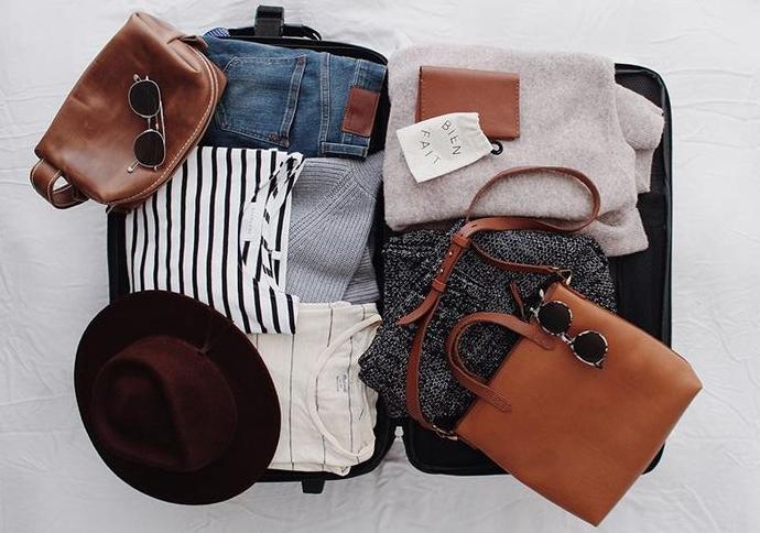 4 dicas para montar sua mala de viagem!