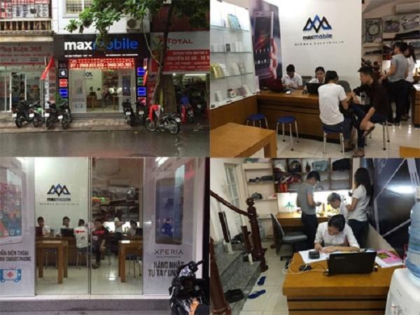 MaxMobile chuyên sửa chữa thiết bị di động cho khách hàng