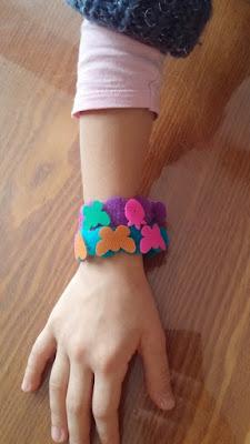 bracelets en velcro