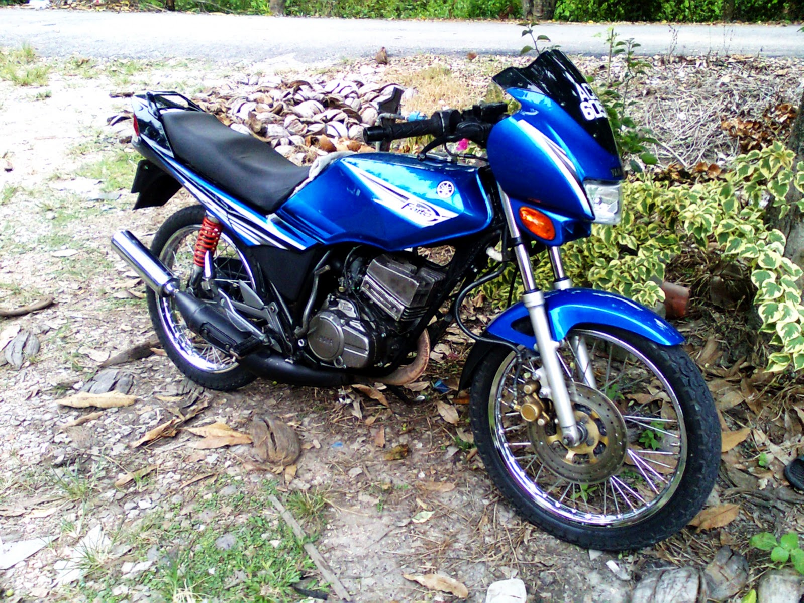 Download 100 Gambar Motor Rxz Warna Biru Terbaru Dan Terlengkap