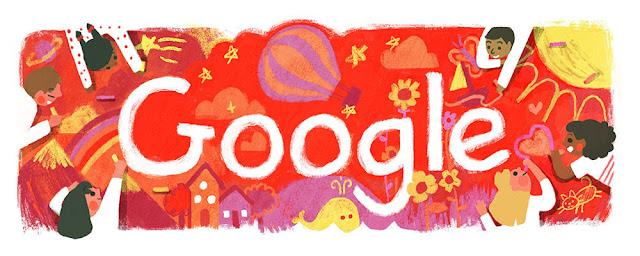 Children's Day 2016 (Australia): Google Doodle