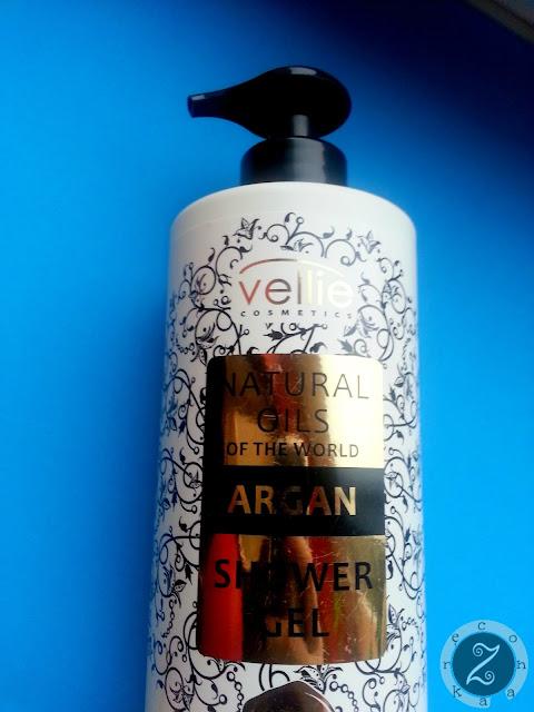 Nawilżający żel pod prysznic z olejem arganowym