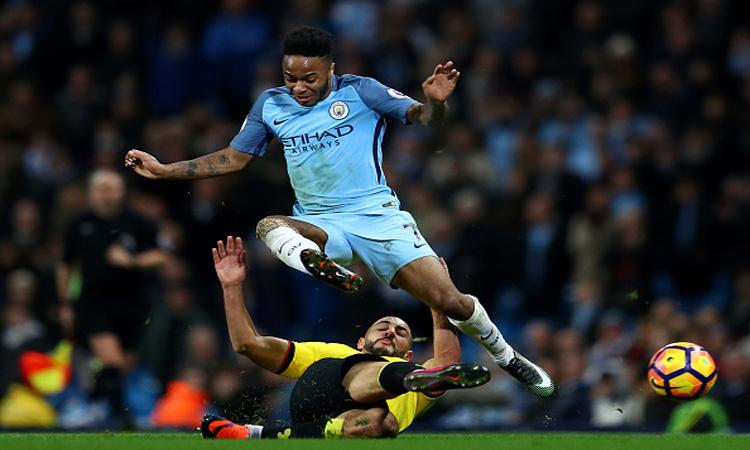 Cuplikan Gol Manchester City 3-1 Watford   Liga Inggris Pekan 22
