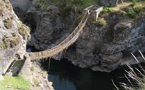 Formas de Comunicación Inca - Los Puentes Colgantes Incas