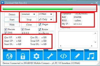 Aplikasi Zonksel Net Rev.0.1