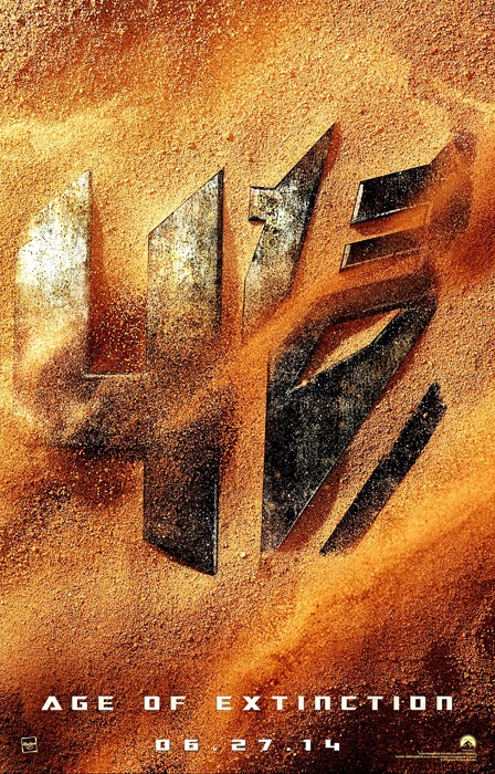 Poster Oficial Transformers Age Of Extinction