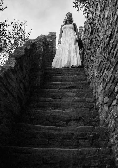 San Gimignano stairs