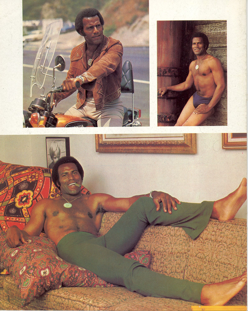 Remarkable, amusing playgirl fred williamson nude share